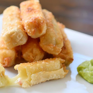 Fried Pepper Jack Cheese Sticks.