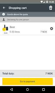 Norwegian Customs App- screenshot thumbnail
