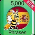 Учите испанский - 5000 фраз icon