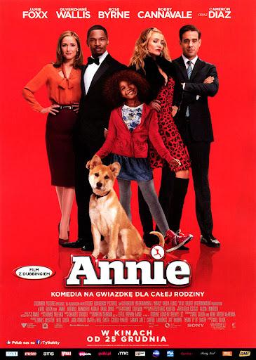 Przód ulotki filmu 'Annie'