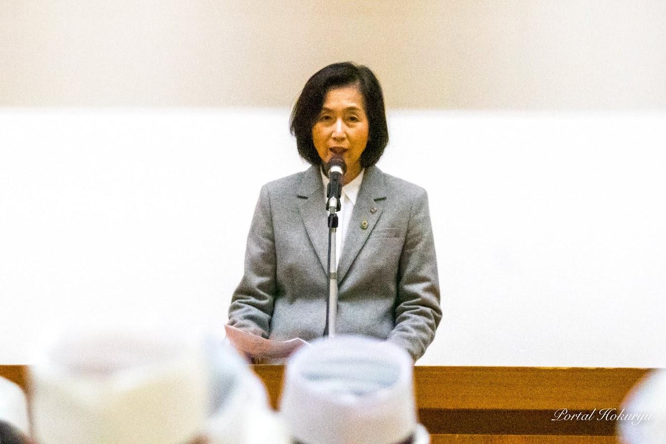 一般社団法人全麺協・横田節子 段位認定部長