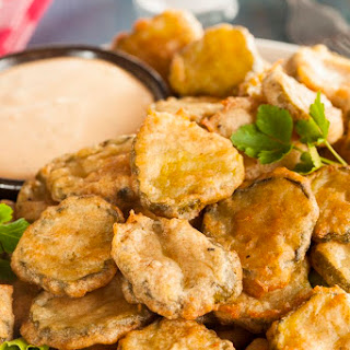 Fried Dill Pickles.