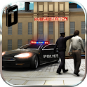 Crime Town Police Car Driver icon