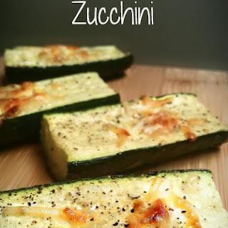 Parmesan - Roasted Zucchini Recipe