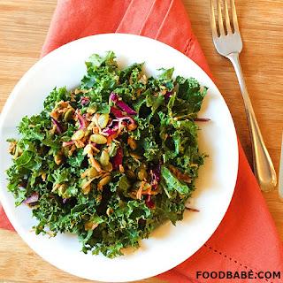Food Babe's Kale Slaw Salad