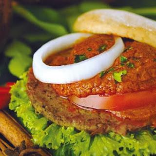Tuna Burgers w/ Chipotle Sauce.