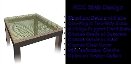 RCC Slab Design - Apps on Google Play