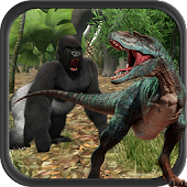 Gorilla vs Dinosaur Adventure