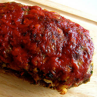 (Toaster Oven) Meatloaf With Chili Sauce.