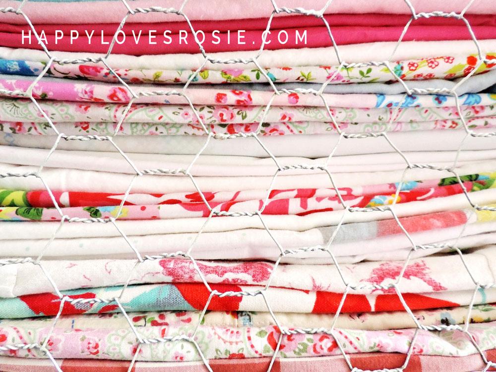 laundered linen