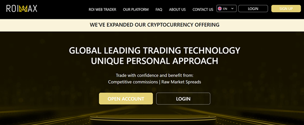 ROIMAX expanded crypto offer