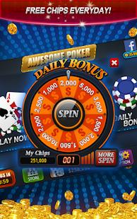 Awesome Poker - Texas Holdem - náhled