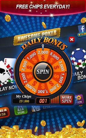 Awesome Poker - Texas Holdem 19.10 screenshot 2092204