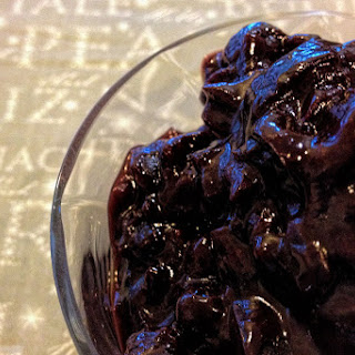 Blueberry And Bourbon Chutney.