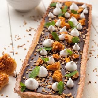 Ultimate Chocolate Tart with Hazelnuts