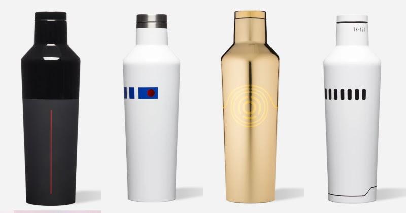 Dāvanas Star Wars faniem pudele
