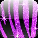 Zebra Bling Live Wallpaper icon