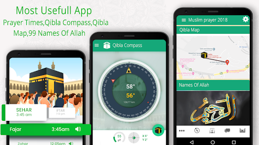 Prayer Times u2014  Azan Time and Qibla Direction 6.6 screenshots 1