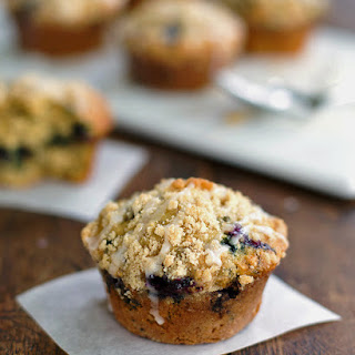 Oatmeal Flax Blueberry Muffins Recipe