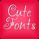 Cute Fonts for FlipFont® Free
