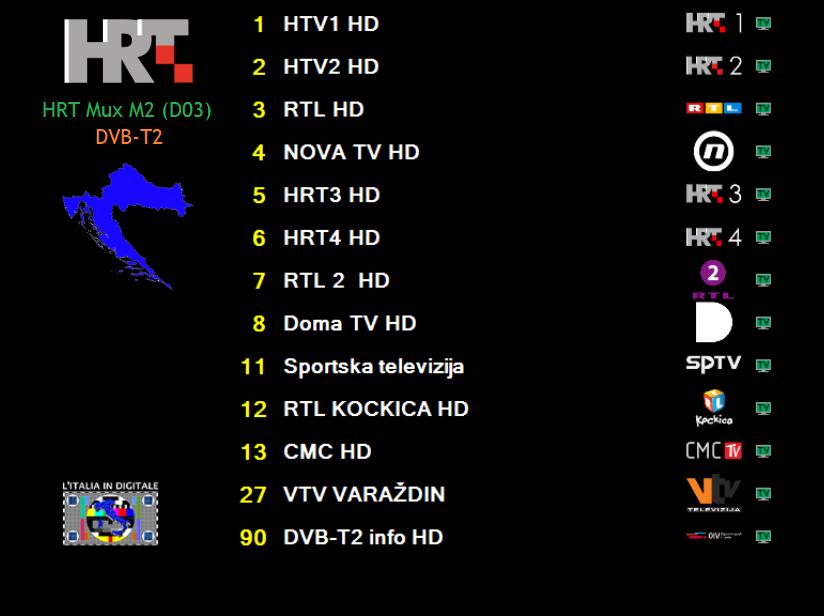 HRT MUX M2 (D03) DVB-T2
