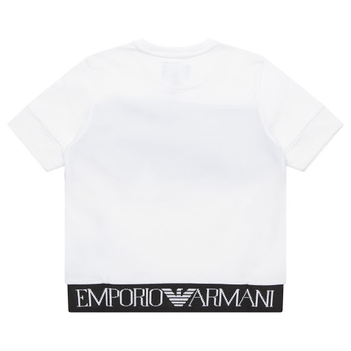 Thumbnail images of Emporio Armani Cotton Logo T-shirt