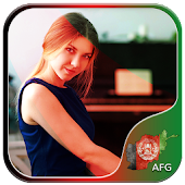 Afghanistan Flag Photo Editor