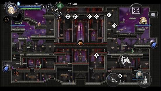 Captura de pantalla de Castlevania Grimoire of Souls