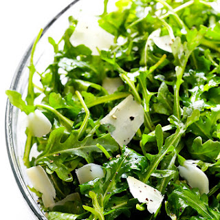 Arugula Salad with Parmesan, Lemon and Olive Oil