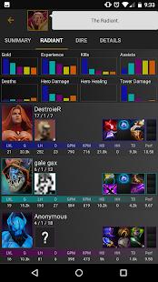 Stats for Dota 2 - náhled