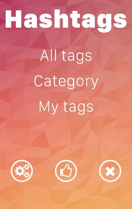 Hashtags - The best tags- screenshot