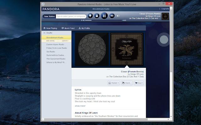 Pandora Player
