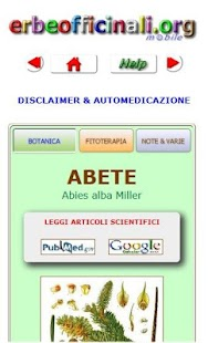 Erbe Officinali e Medicinali +- miniatura screenshot