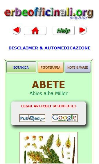 Erbe Officinali e Medicinali +- screenshot