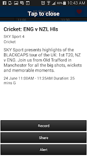 SKY TV NZ- screenshot thumbnail
