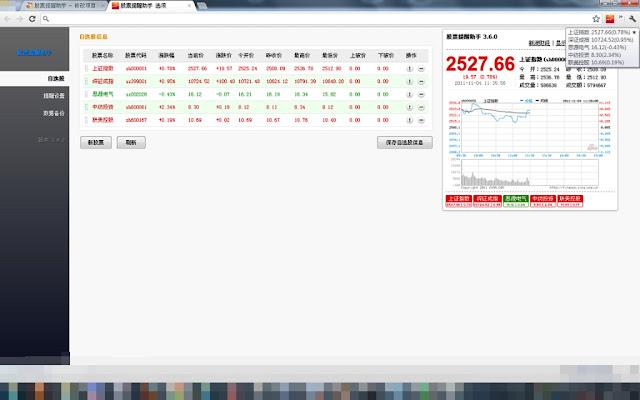 股票提醒助手