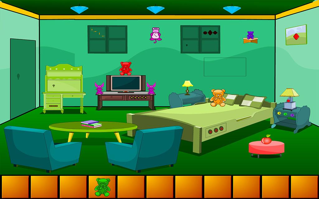 Escape From Green Bedroom- screenshot