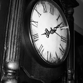 clock by Gordana Djokic - Artistic Objects Antiques ( time, old, numbers, clock, watch )