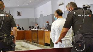 Primera juicio con jurado en pandemia, en septiembre de 2020 en la Audiencia Provincial.