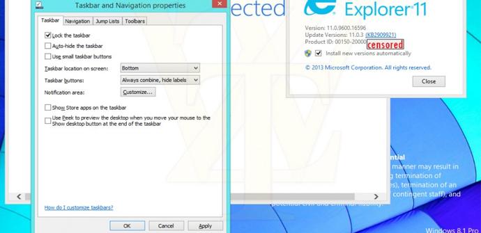 Windows 8.1 Update llega el 11 de marzo