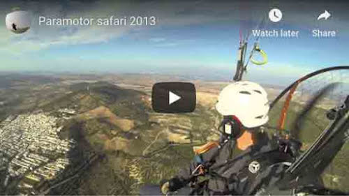 Paramotor safari 2013