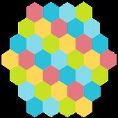 六角形スライドパズル
