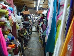 Photo: 布欄Inside the bazaar