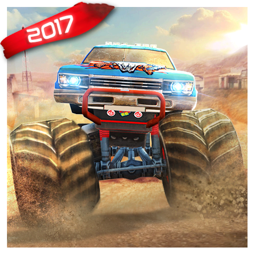 Monster Truck Games :  Offroad Hill Dash Racing