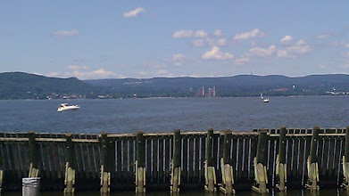 Photo: View of Hudson River from Half Moon Marina