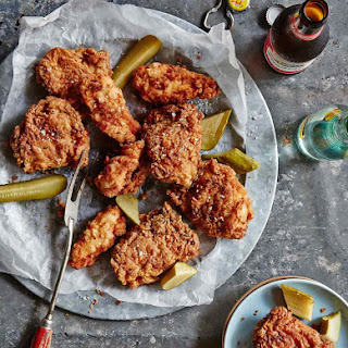 Pickle-Brined Fried Chicken