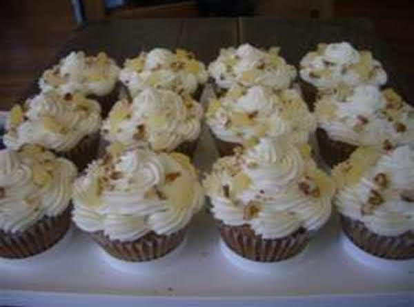 Lite Heavenly Pineapple Cupcakes (low Fat) By Freda Recipe