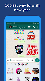 New Year Stickers for WhatsApp Screenshot
