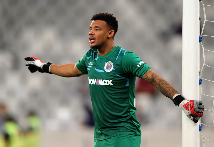 Goalkeeper Ronwen Williams takes over as Supersport United's new ...