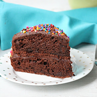 Double Chocolate Fudge Layer Cake Recipe